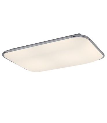 Plafón de techo FASE LED 90w MANTRA, 6247, seleccionada luz neutra con mando.
