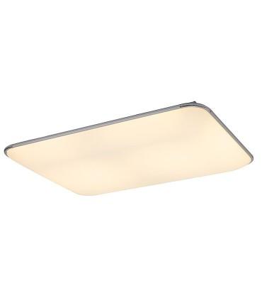 Plafón de techo FASE LED 90w MANTRA, 6247, seleccionada luz calida con mando.