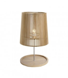 Lámpara de sobremesa madera ND38