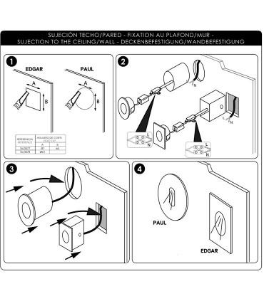 Manual de instalación focos Edgar - ACB