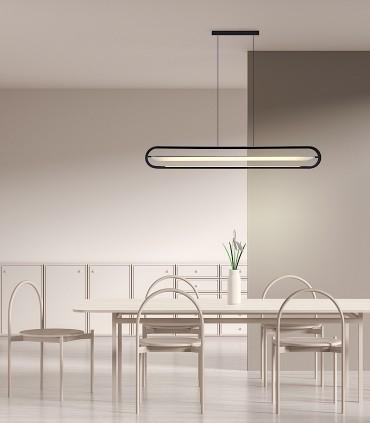 Lámpara de suspensión BOW negro 120cm - NEXIA