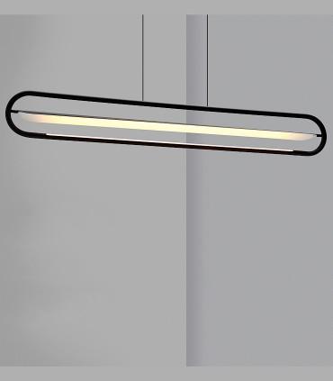 Lámpara de techo BOW negro 120cm - NEXIA
