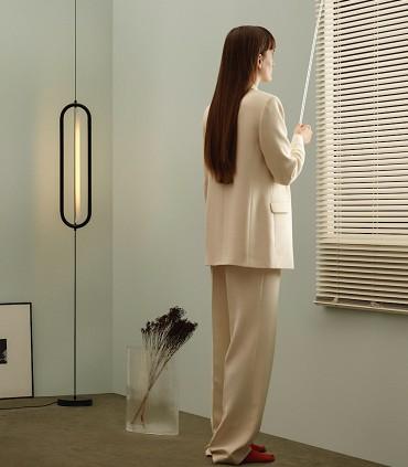 Lámpara suspensión vertical BOW negro - NEXIA