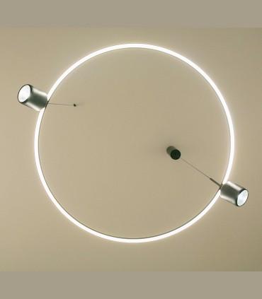 Vista inferior lámpara AROS Single - NEXIA