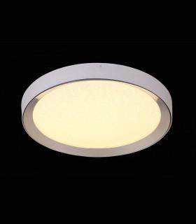 Plafón redondo MALE LED 40w 65cm cromo c/mando 5922 de Mantra