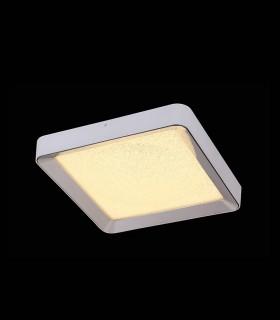 Plafón MALE LED 24w 50cm cromo c/mando 5921 de Mantra