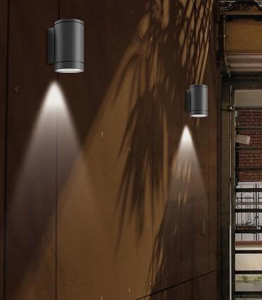Imagen de ambiente con apliques Nori 1L - ACB