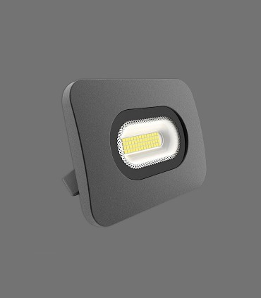 Sun Plafón-Aplique 13cm 20W LED 4000K Negro IP65 - ACB