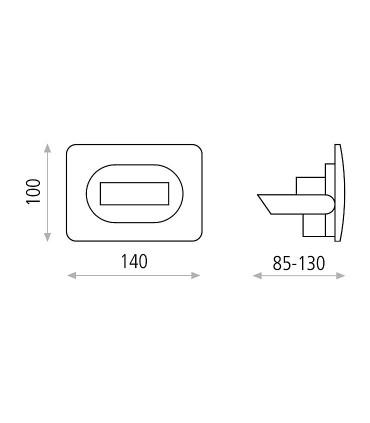 Dimensiones Aplique SUN - ACB