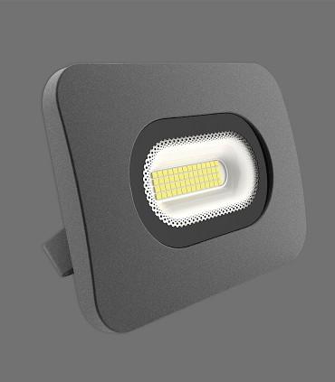 Sun Plafón-Aplique 20cm 50W LED 4000K Negro IP65 - ACB