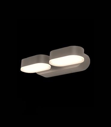 Kansas Aplique LED 3000K negro IP54 - ACB