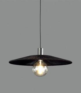 Lámpara colgante PAMELA Ø50cm negro - ACB