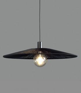 Lámpara colgante PAMELA Ø70cm negro - ACB