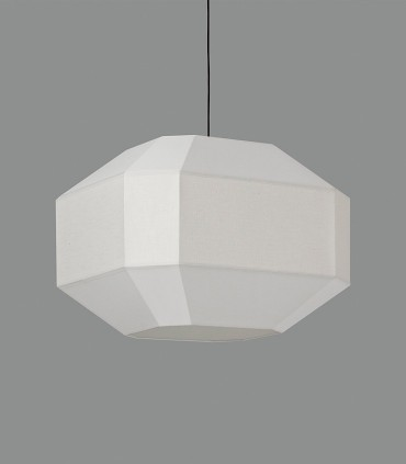 Lámpara de pantalla BAUHAUS blanco Ø60cm - ACB