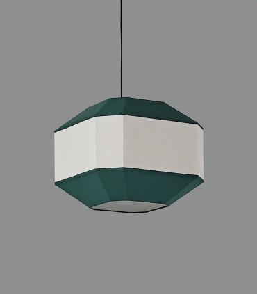 Lámpara de pantalla BAUHAUS verde Ø45cm - ACB