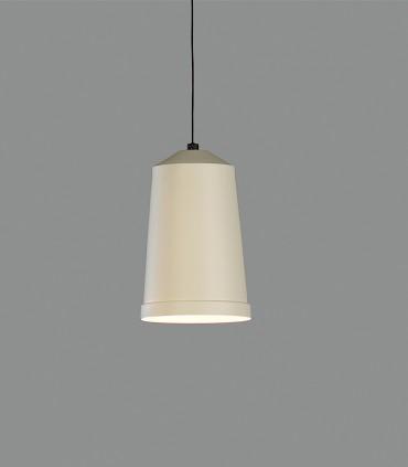 Lámpara colgante Bali blanco perla