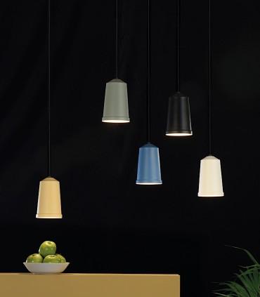 Imagen de ambiente con varias lámparas colgantes BALI Ø12cm - ACB