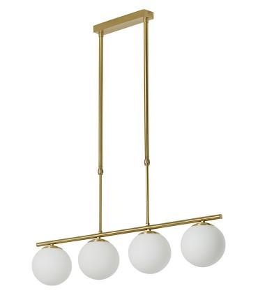 Lámpara de techo RONDA Oro satinado E27 - MDC
