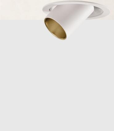 Foco empotrable BARDO Blanco/oro - ACB