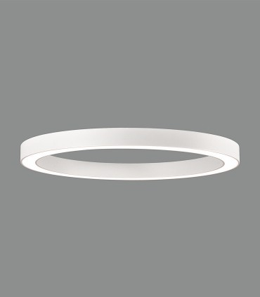 ALISO plafón de techo LED blanco Ø80cm - ACB