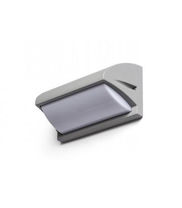 Aplique de pared exterior MORA gris E27 IP54 - Rendl