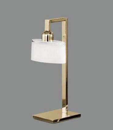 Lámpara de mesa XOLA cuero E14 - ACB