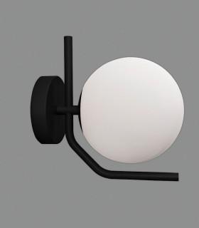 Aplique MAUI negro E27 LED - ACB