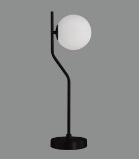 Lámpara de mesa MAUI negro E27 LED - ACB
