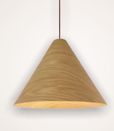 Lámpara de techo madera TESSA Ø61CM