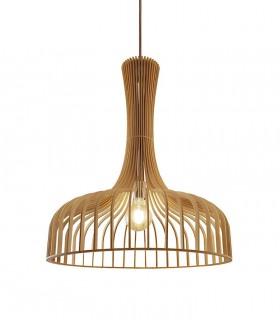 Lámpara de techo madera AZAHAR Ø60cm
