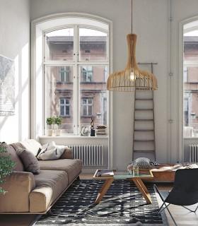 Imagen de ambiente con lámpara Azahar Ø61cm