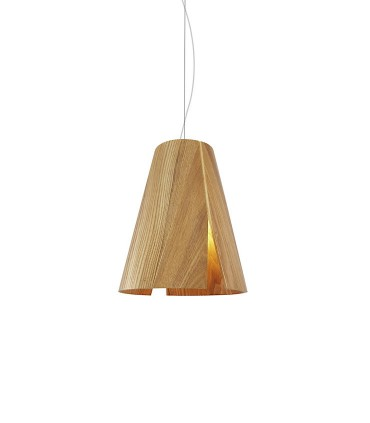 Lámpara de techo madera ABEDUL Ø24cm