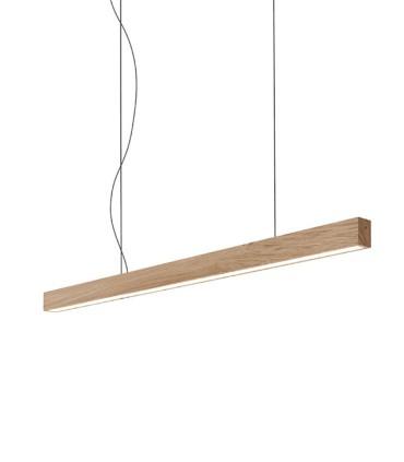Lámpara de techo madera LED ND54 95cm