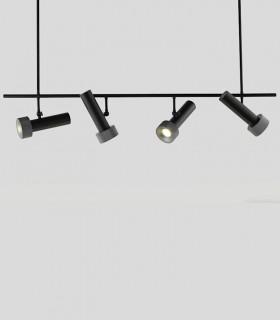 Lámpara Focus 4 Negro - Antracita Aromas