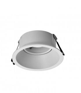 Aro Foco Empotrable COMFORT GU10 Blanco Mate Redondo C0160 Mantra (Bombilla GU10 no incluida)