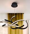Lámpara RING II negro 60cm Schuller