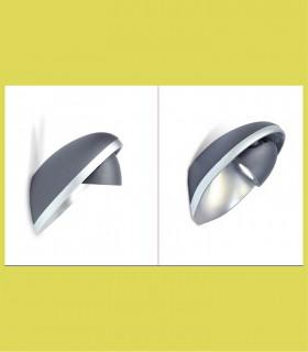 Aplique exterior foco rotatorio Aluminio 9W 350lm 4000K