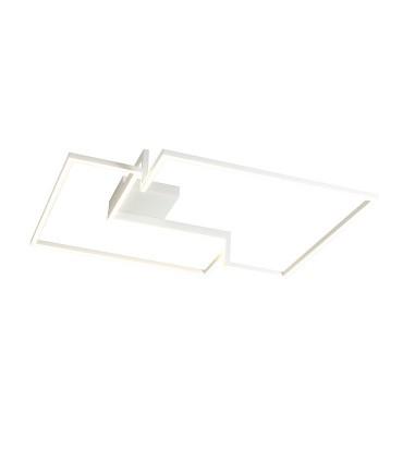 Plafón LED Boutique blanco grande 79W - Mantra