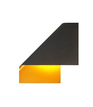 Aplique de pared Luppi Negro 7694 GX53 LED - Mantra