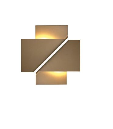 Composición con 2 apliques Luppi arena