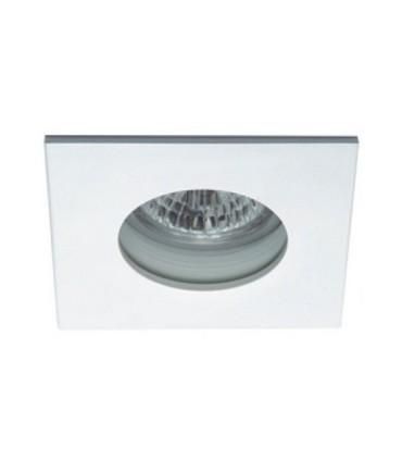 Aro Empotrable LED blanco Estanco IP65 Cuadrado GU10  - 106D