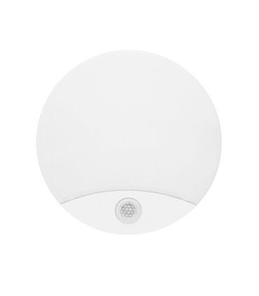 Aplique - Plafón LED con sensor de movimiento infrarrojos 15W IP44 - JISO