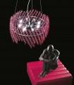 Lámpara de techo SHINE SWAROVSKI L14218/8 - Renzo Del Ventisette