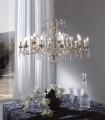 Lámpara de techo clásica L14101/12+6 - Renzo Del Ventisette
