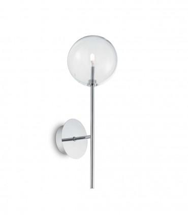 Aplique esfera transparente EQUINOXE G4 Cromo IDEAL LUX