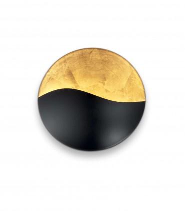 Aplique SUNRISE G9 Pequeño Negro-oro - IDEAL LUX