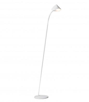 Lámpara de pie Capuccina 7577 8.5W 129cm blanco - Mantra