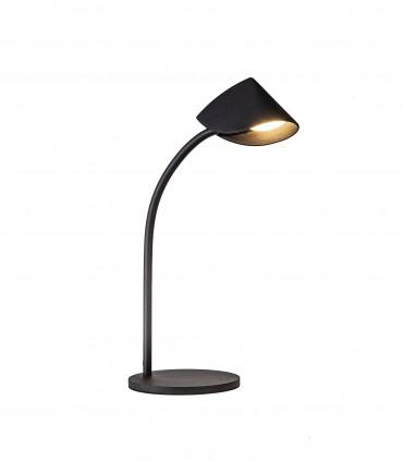 Lámpara de mesa Capuccina 8.5W Baja 44cm negro 7584 - Mantra