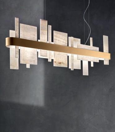 Lámpara suspensión Honicé Lineal 100cm, 150cm, 200cm  - Masiero