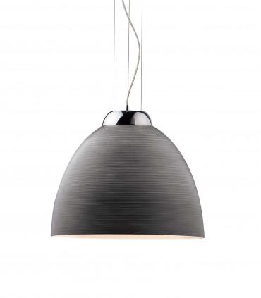 Lámpara de techo Tolomeo SP1 Ø40 E27 Gris - Ideal Lux